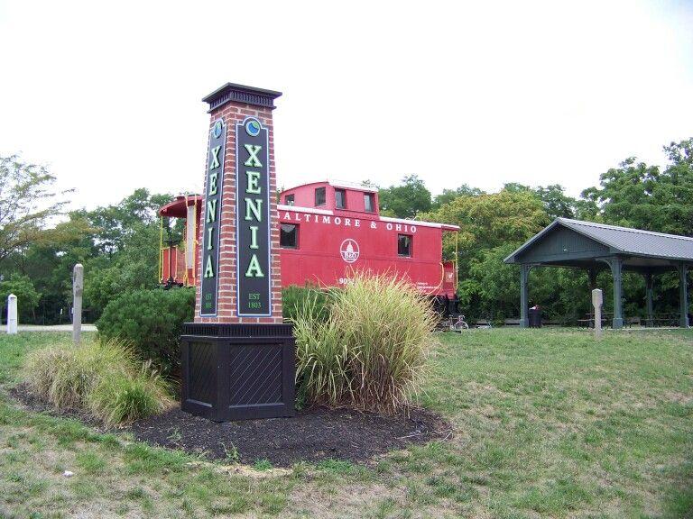Railcar Xenia Station Xenia Ohio Xenia Ohio Day Trips Xenia