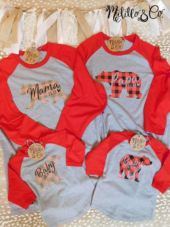 71d0c7ec Family Shirt Set,Mama Bear Shirt,Mom Shirt,Daddy Shirt,Papa Bear ...