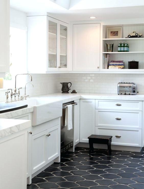 Pin By Cherie Meagher On Lookbook Sc Big Rental Kitchen Flooring Dark Kitchen Floors Trendy Kitchen Tile