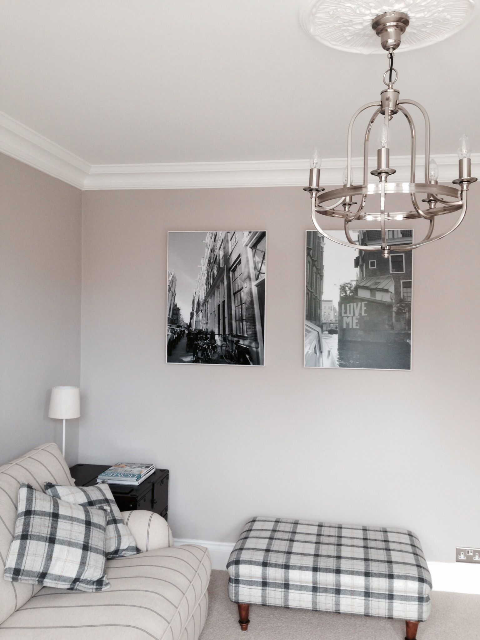 Living Room Farrow And Ball Elephants Breath John Lewis Warwick