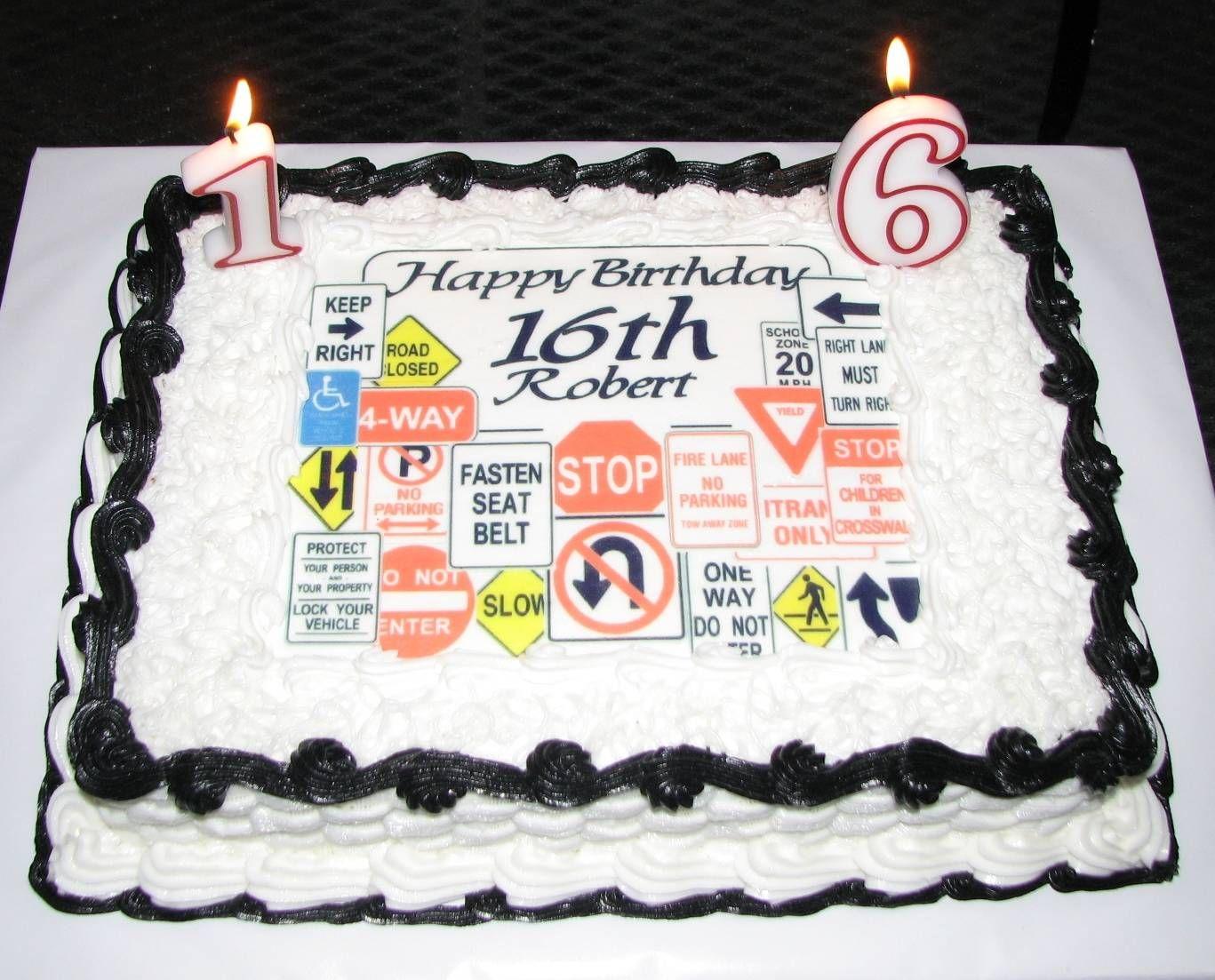 16th birthday cake ideas for boys boys 16th birthday