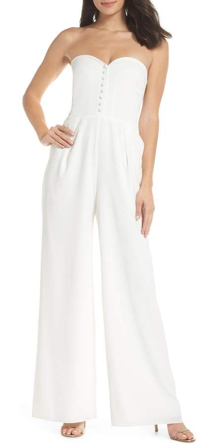 0590aa36b139 Joanna August Aretha Strapless Jumpsuit in 2018