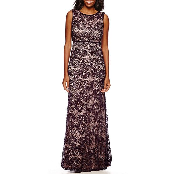 R&M Richards Sleeveless Formal Lace Gown - JCPenney   Prom dresses ...