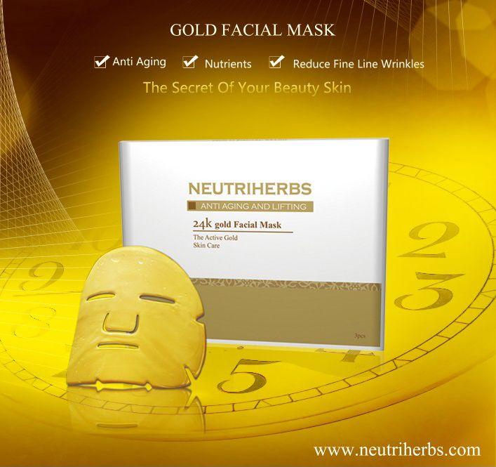 24k Gold Face Mask Pure Luxury Anti Wrinkle Mask Anti Wrinkle Mask Antiaging Mask Gold Face Mask
