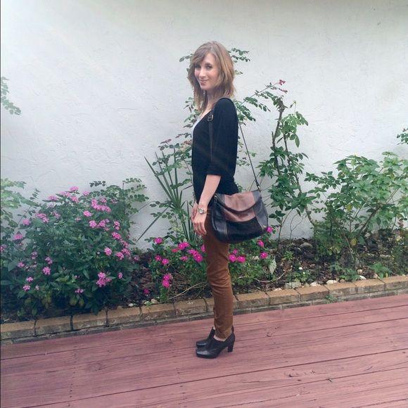 The Sak Deena Flap Crossbody Leather