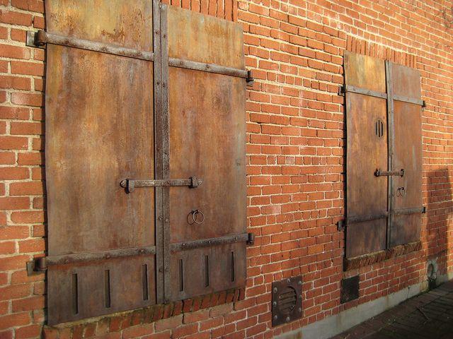 Iron doors at Cary House, Placerville, Ca. | Iron doors ...