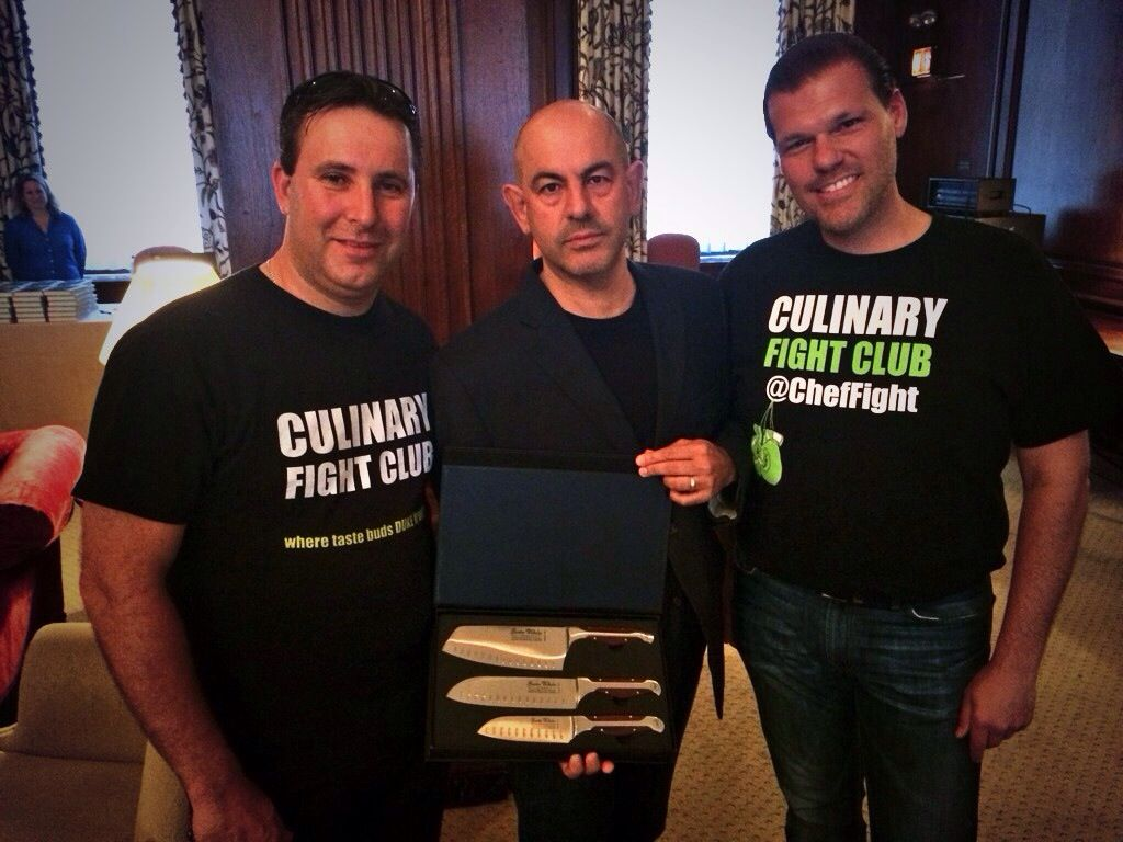 We were so fortunate to have Simon Majumdar from CutThroat Kitchen ...