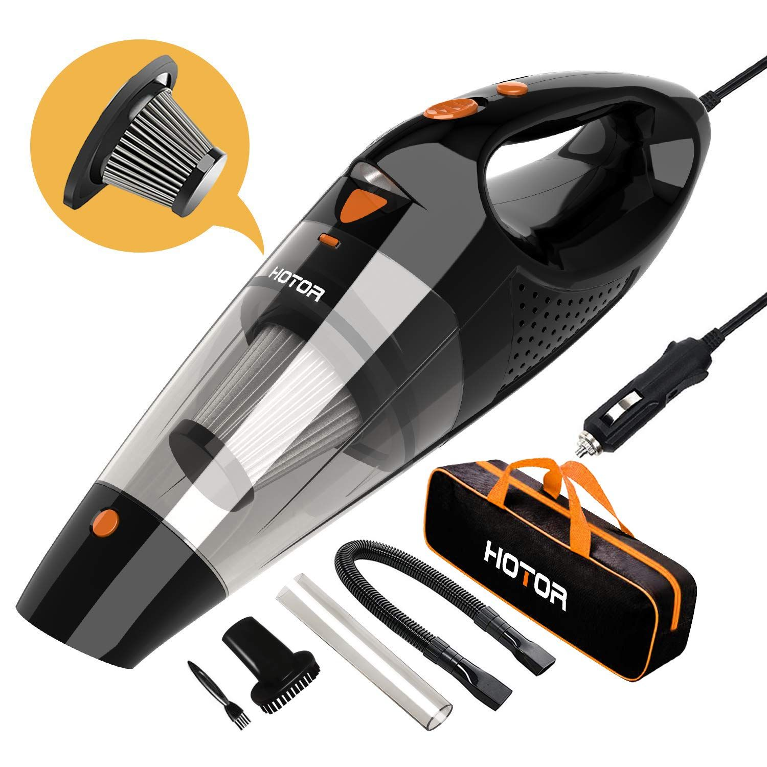 Amazon Corded Car Vacuum Cleaner Just 10.41 W/Code