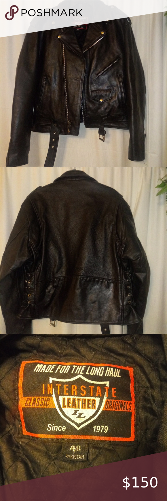Biker Jacket Clothes Design Jackets Genuine Leather Jackets [ 1740 x 580 Pixel ]