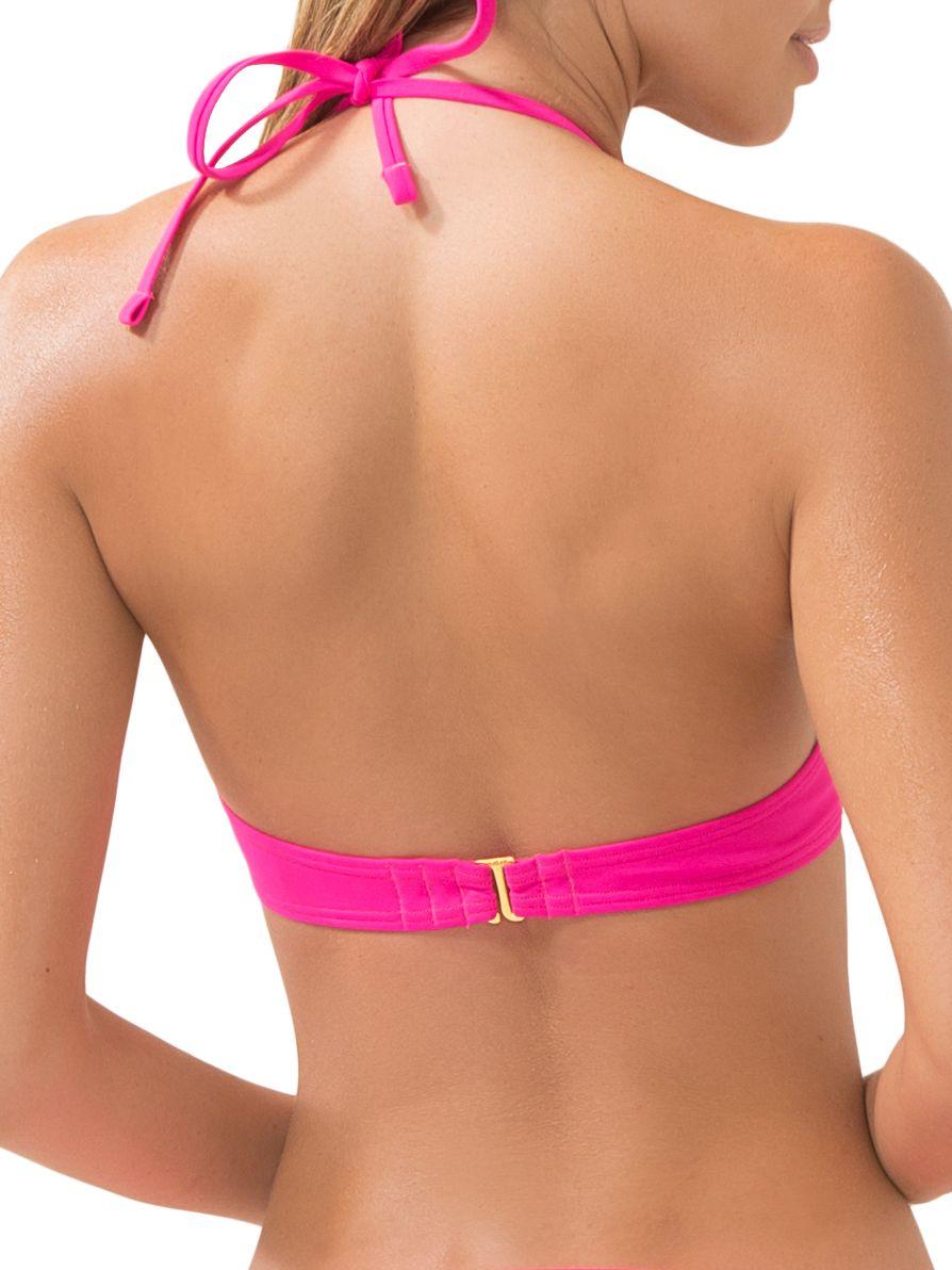 b43a327a264 Women s Bra-Sized Getaway Halter Bikini Swimsuit Top Sized