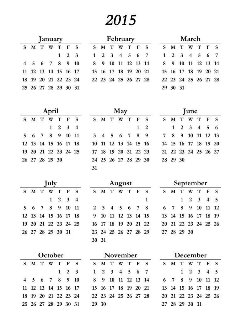 Calendar 2015 For Your Office Calendar Printables 2015 Calendar