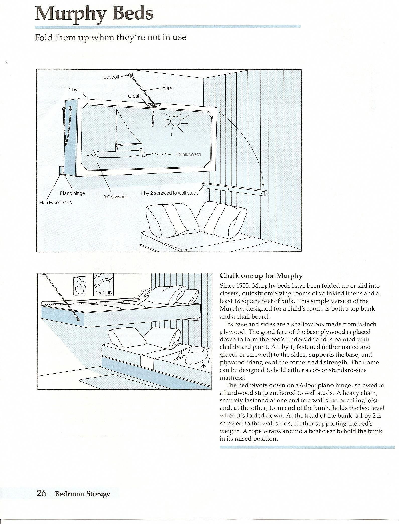 Receive Fantastic Recommendations On Murphy Bed Plans How