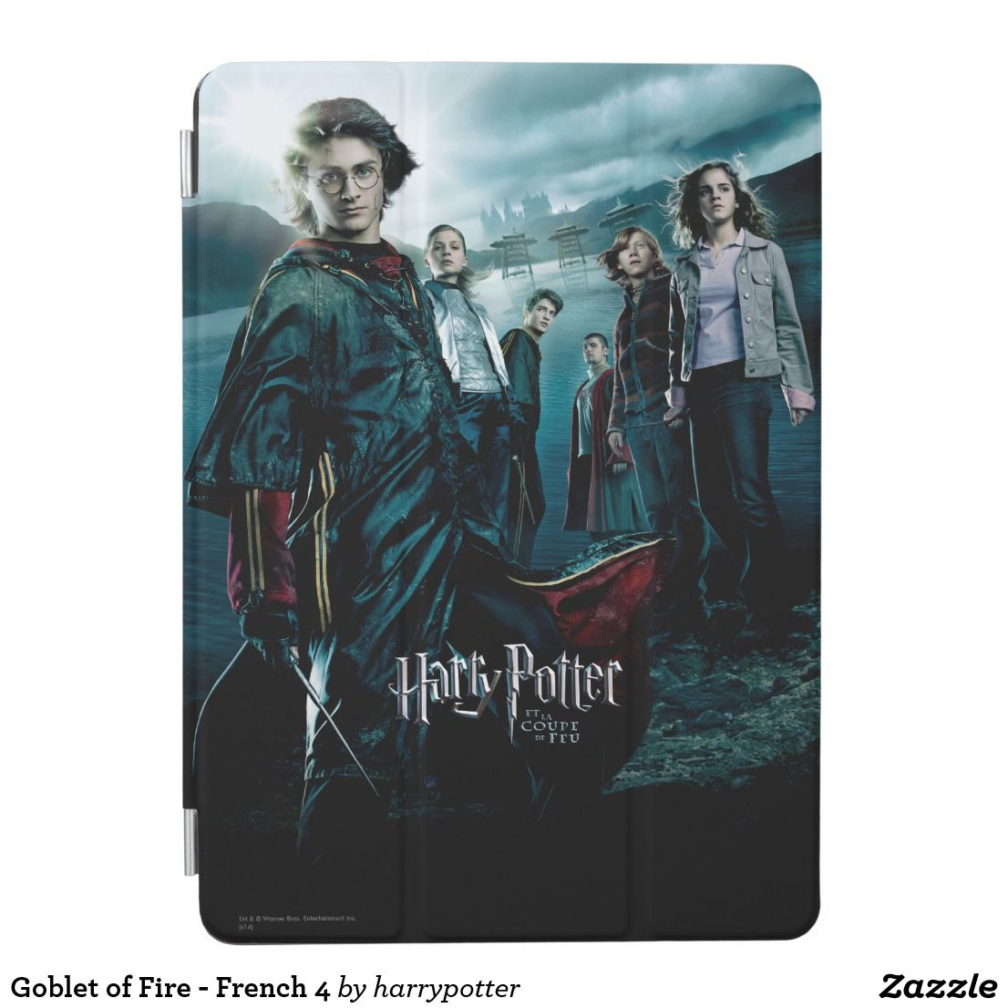 Goblet Of Fire French 4 Ipad Air Cover Zazzle Com Harry Potter Goblet Goblet Of Fire Harry Potter Movie Posters