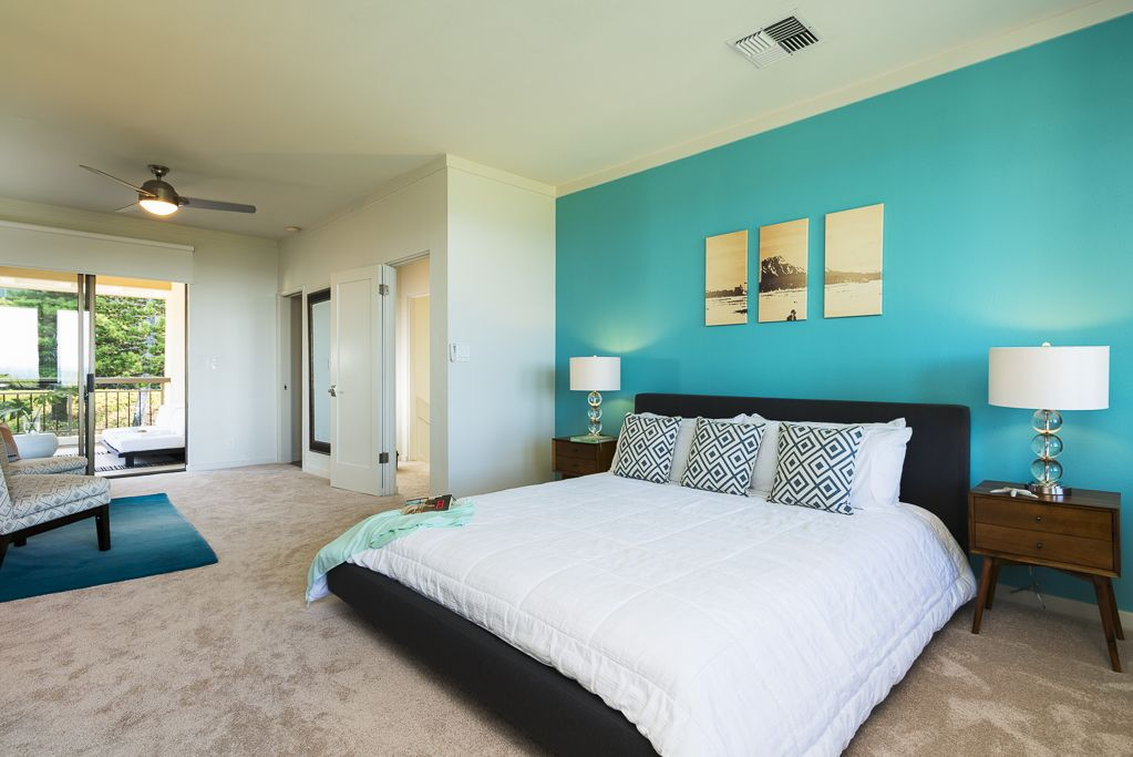 Turquoise Accent Wall Bedroom Google Search Master Bed Plans Pinterest Turquoise Accent