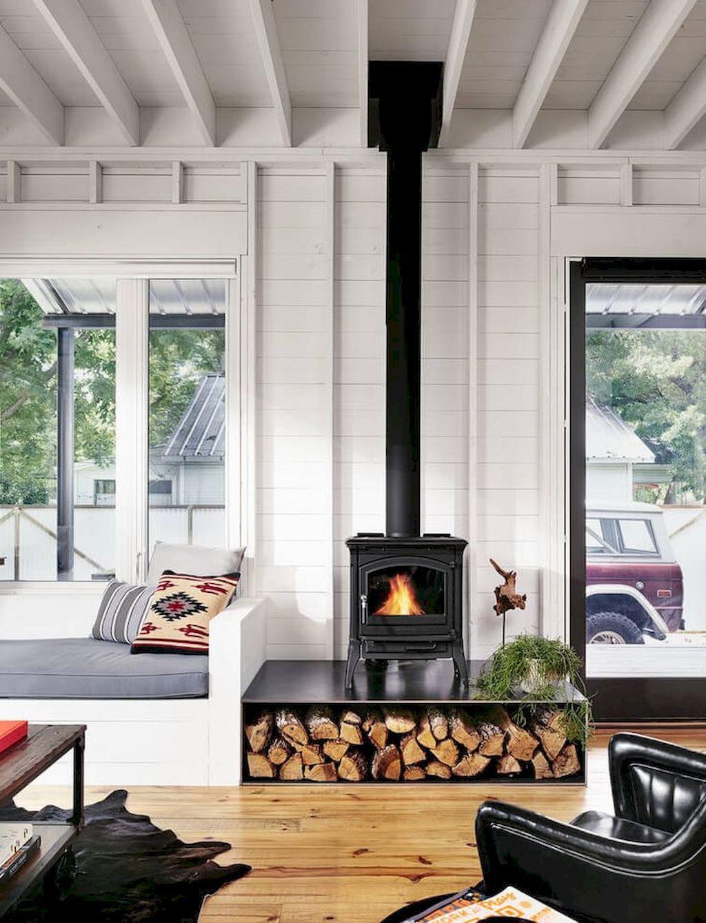 60 Scandinavian Fireplace Ideas For Your Living Room 64 Farm House Living Room Modern Farmhouse Living Room Decor Farmhouse Decor Living Room