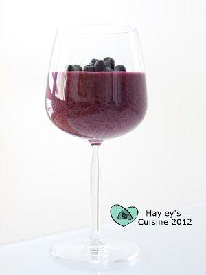 Hayley's Cuisine: Mustikkavispipuuro ja kuva-arvoitus