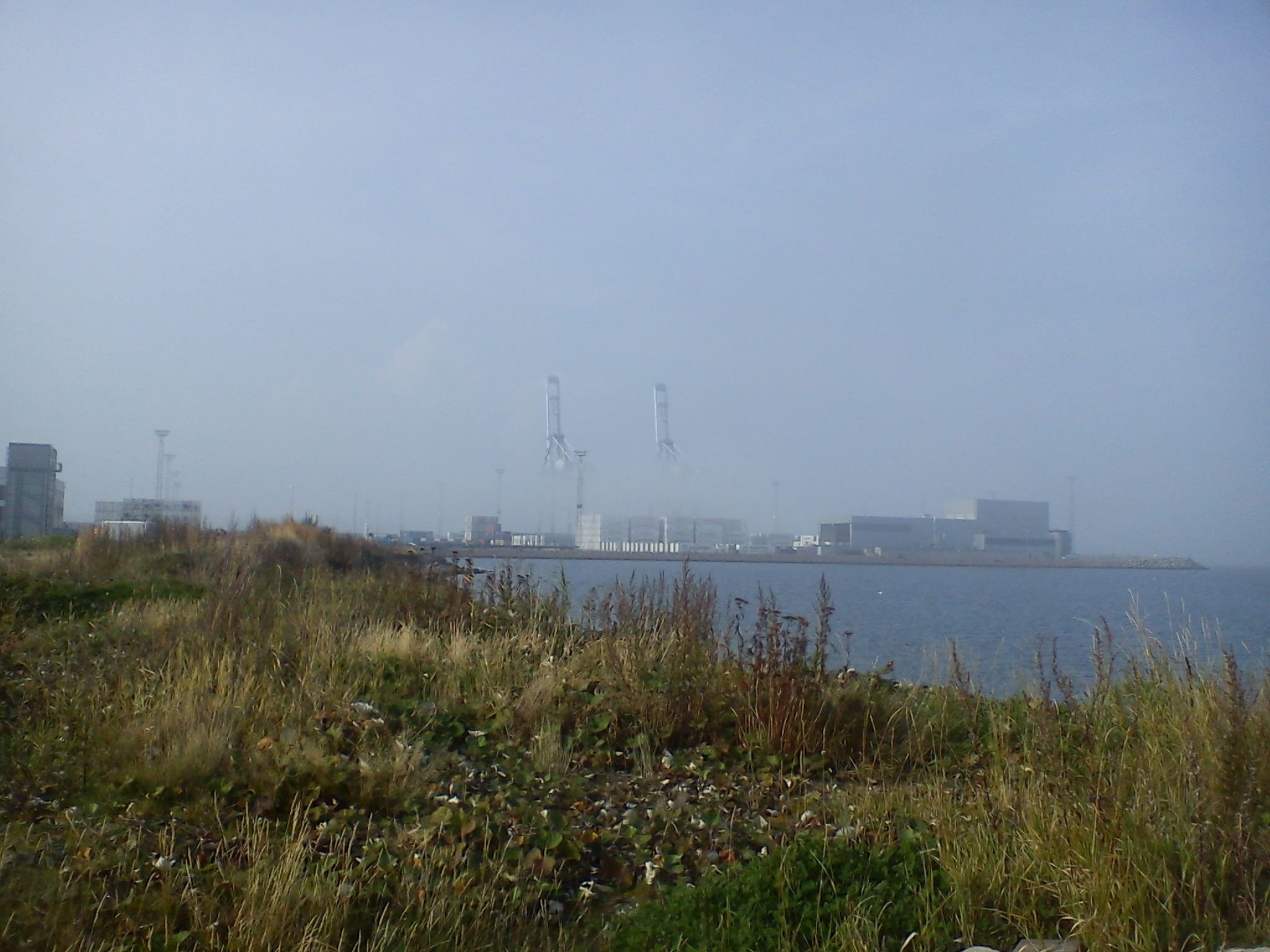 Århus havn september 2014