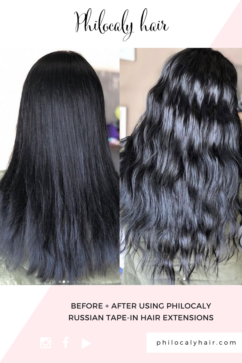 Philocaly hair offers the most premium range of remy russian tapein