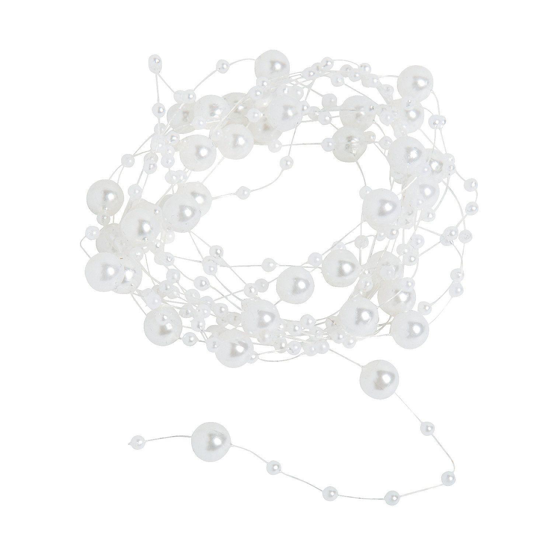 Pearl+Garland+-+OrientalTrading.com   wedding ideas   Pinterest ...