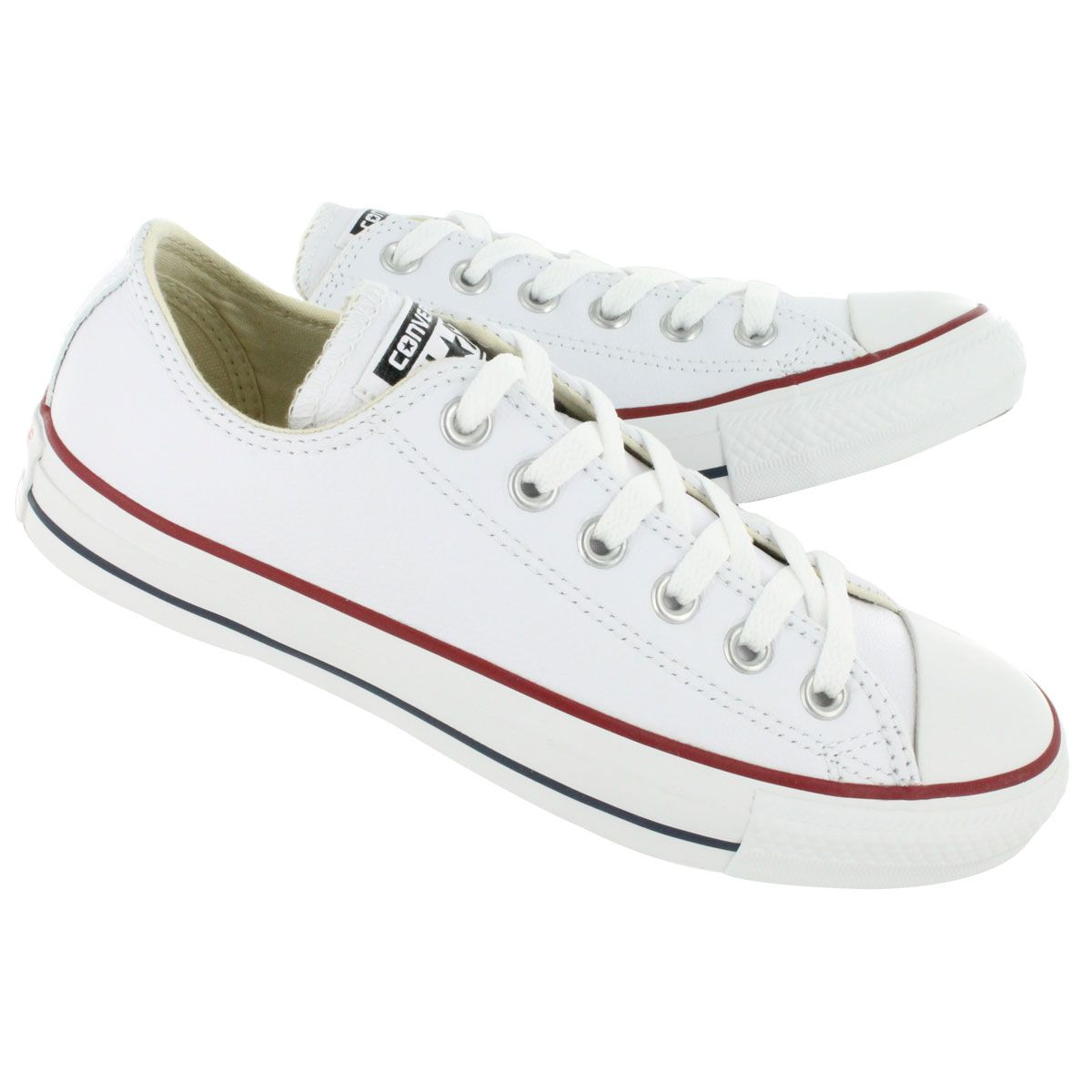 Women's CHUCK TAYLOR LEATHER OX white sneakers | White