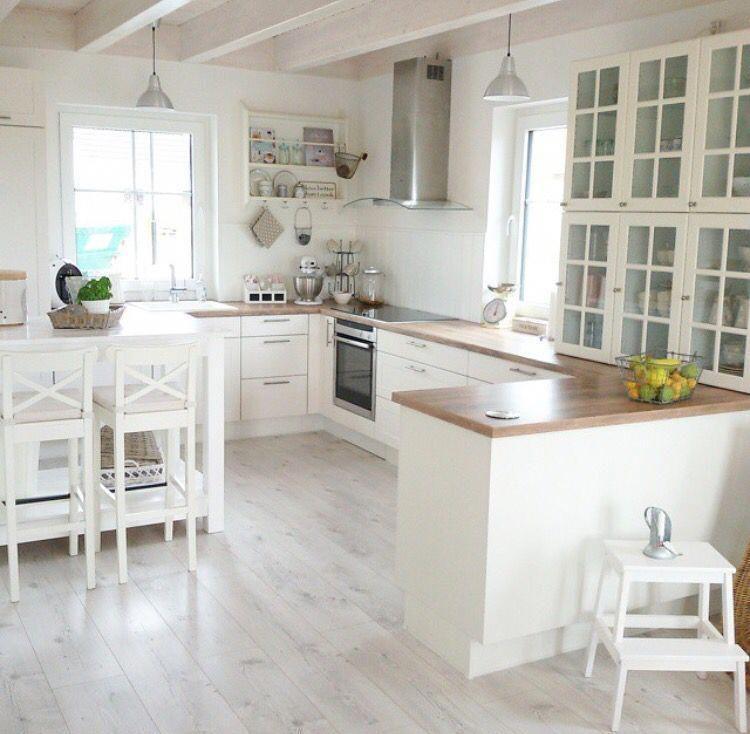 kitchen grey floor wood countertop white cabinets diywallart wood countertops wood on kitchen interior grey wood id=48228