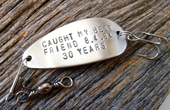 Fishing Lure Gifts for Best Friends Long by CandTCustomLures