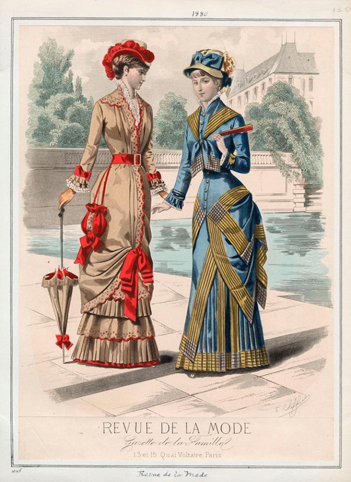 Moda Victoriana Femenina