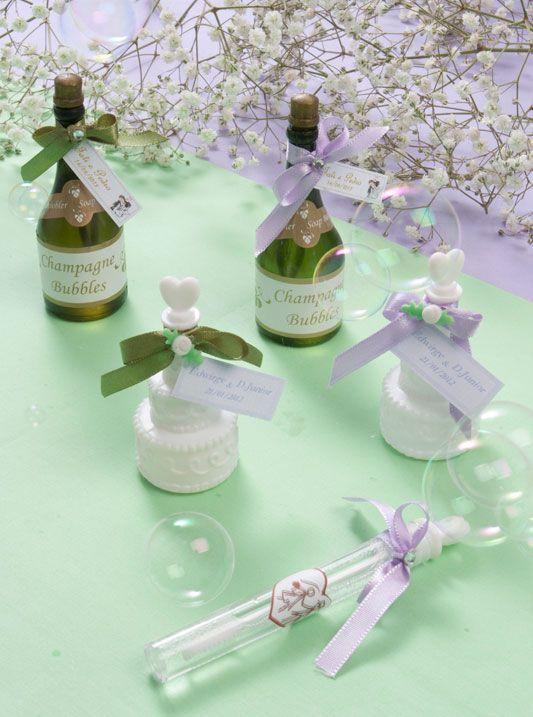 Lembrancinha para casamento de bolhas de sabão / DIY, Craft, Upcycle