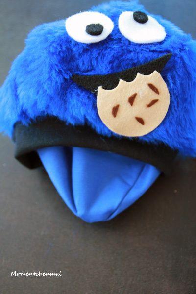 Krümelmonster Kostüm Innenmütze Mütze Baby Haarschmuck Keks