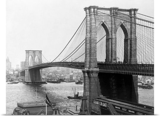 Brooklyn Bridge, New York | Gold flats, Brooklyn bridge and Bridge