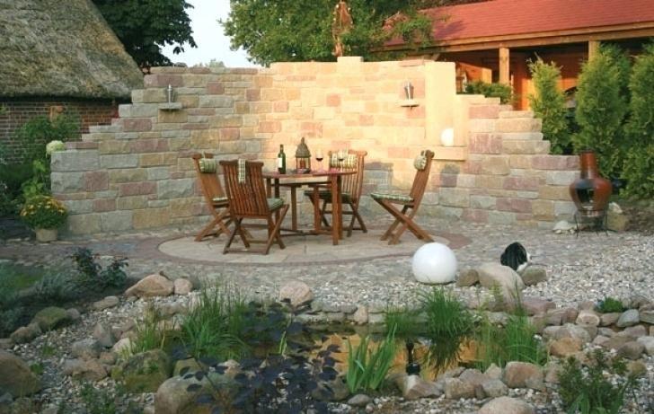 Mauern Im Garten Gartengestaltung Sichtschutz Mauer Performal Best