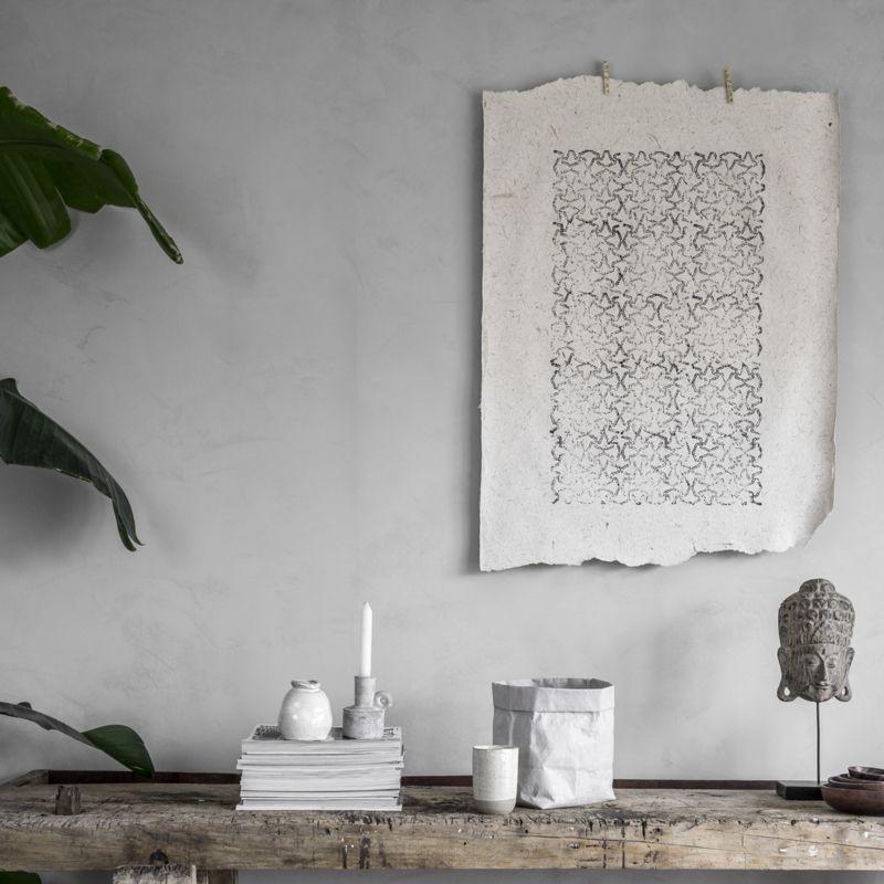 Batik Op Olifantenpoep Papier