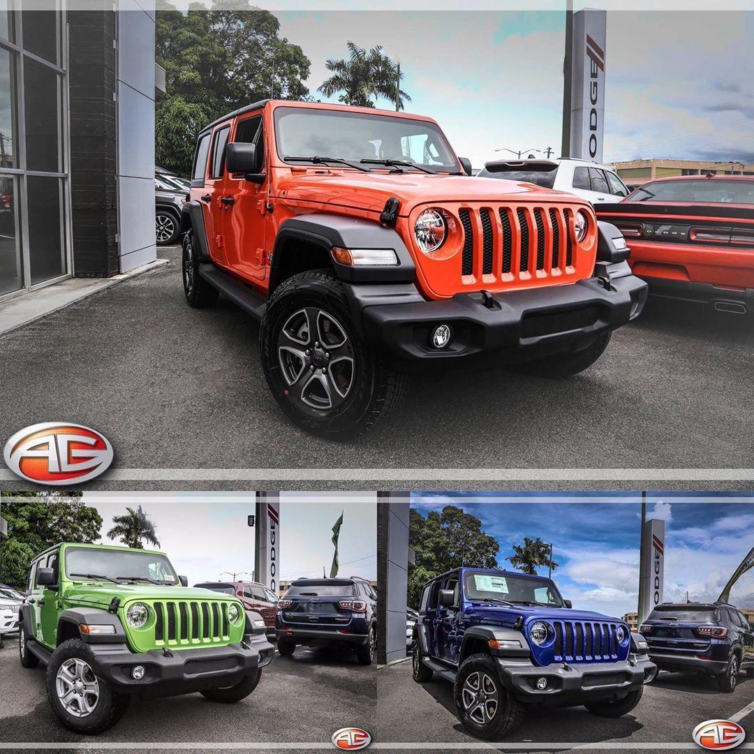 Jeep Wrangler JL 2019 📌Escoge tu favorito