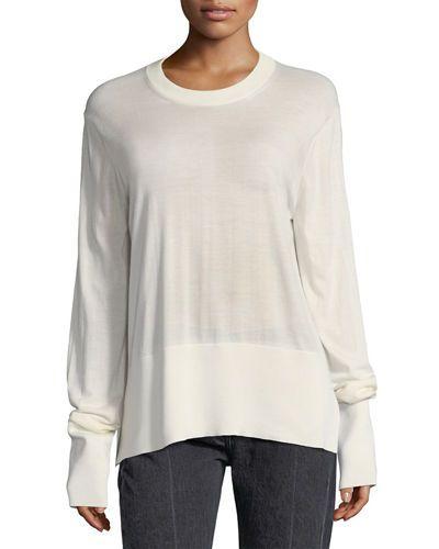 4e1180630982bf Nalodi Paneled Sweatshirt