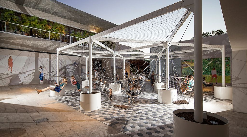 Miami Design District Palm Court Swings Parklet Pinterest Impressive Miami Design District Furniture