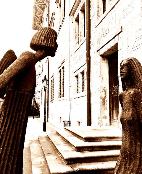Zámek Litomyšl,sochy Olbrama Zoubka