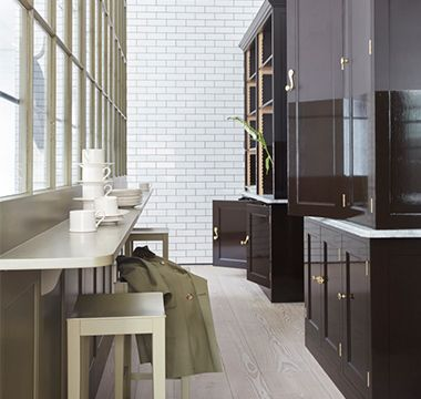 Plain English Cupboards - MILIEU Magazine #plainenglishkitchen