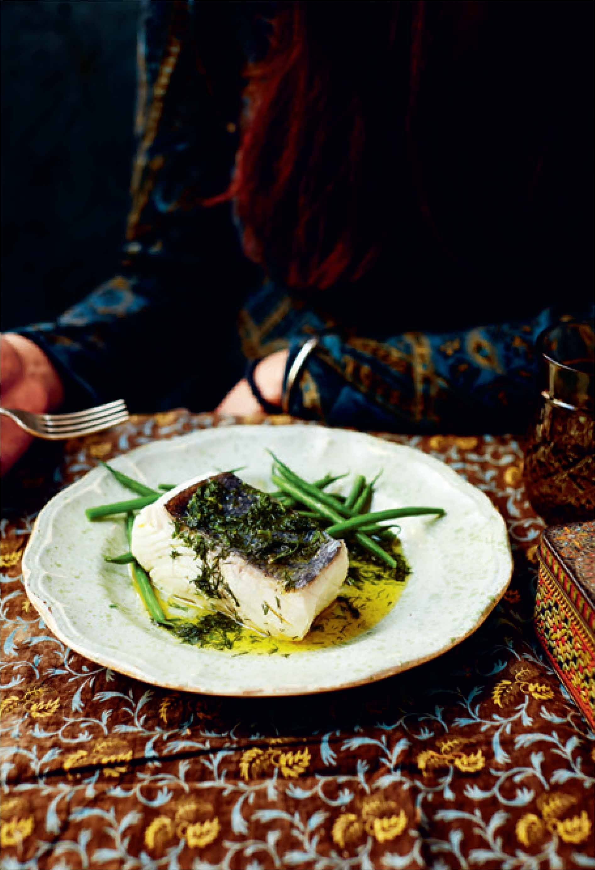 Poached halibut in buttery dill sauce recipe from Polska by Zuza Zak | Cooked
