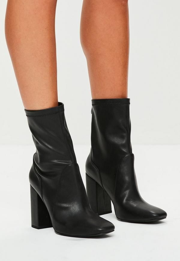 Boots, Leather sock boots, Women shoes