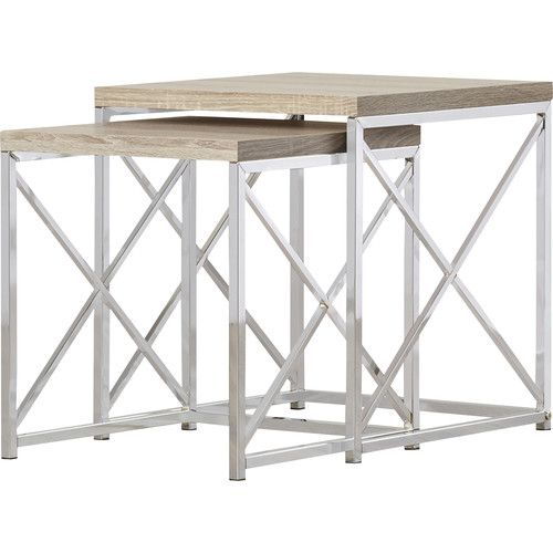 Found It At Wayfair Oliver 2 Piece Nesting Table Set