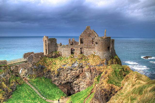 Beautiful Pictures of Dunluce Castle in Ireland