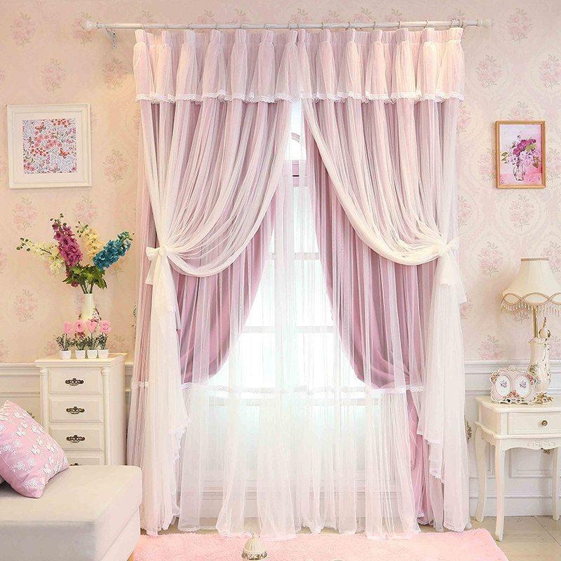Картинки шторы для девочек