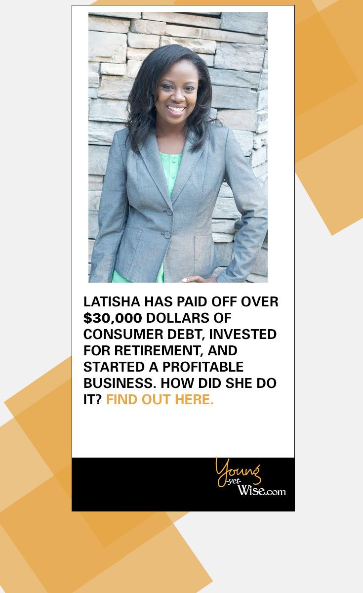 """""""When I made that first swipe I don't think I knew how much it would affect my life. Living with credit card debt that I could not afford cost me a lot of stress, worry, and unnecessary cash. Yes, it was expensive to be in debt. At one point I had a 24% interest rate on a credit card with a large balance."""" LaTisha Styles http://youngyetwise.com/how-she-paid-off-22000-of-credit-card-debt/"""