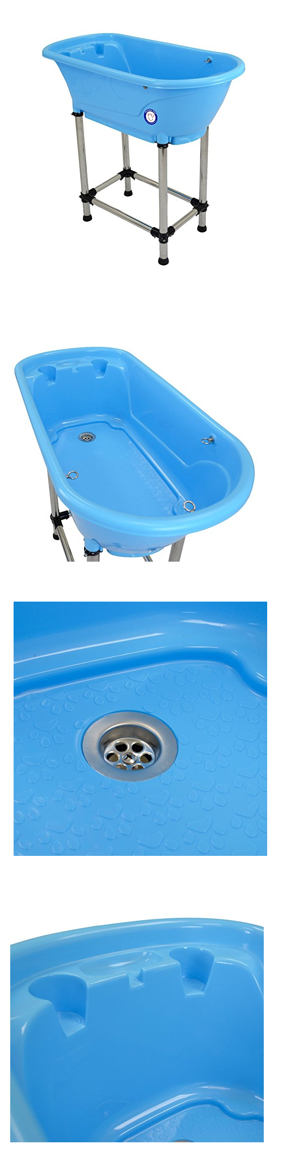 Grooming Tables 146241: Flying Pig Blue Pet Dog Cat Washing Shower ...