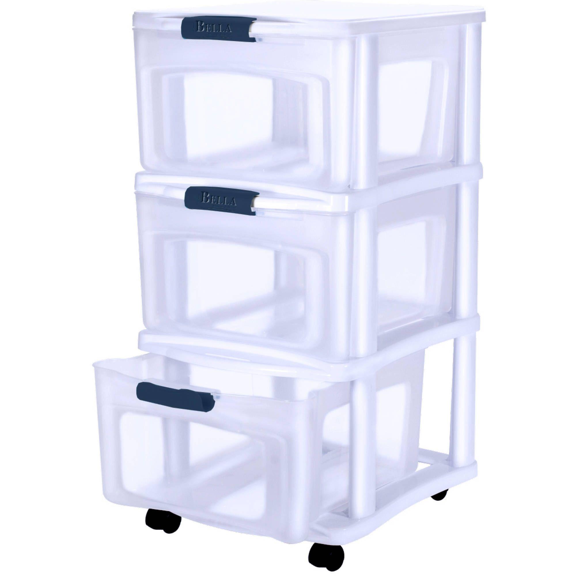 cart wheels unit drawer on stacking storage tower three slim rolling mudroom four drawers stunning plastic