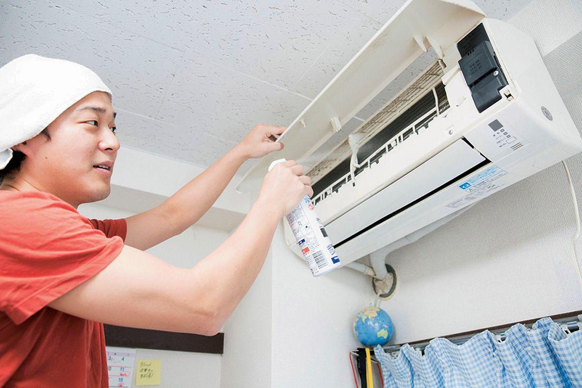 1時間の掃除で電気代が10 も下がる 誰でもできるエアコン洗浄術