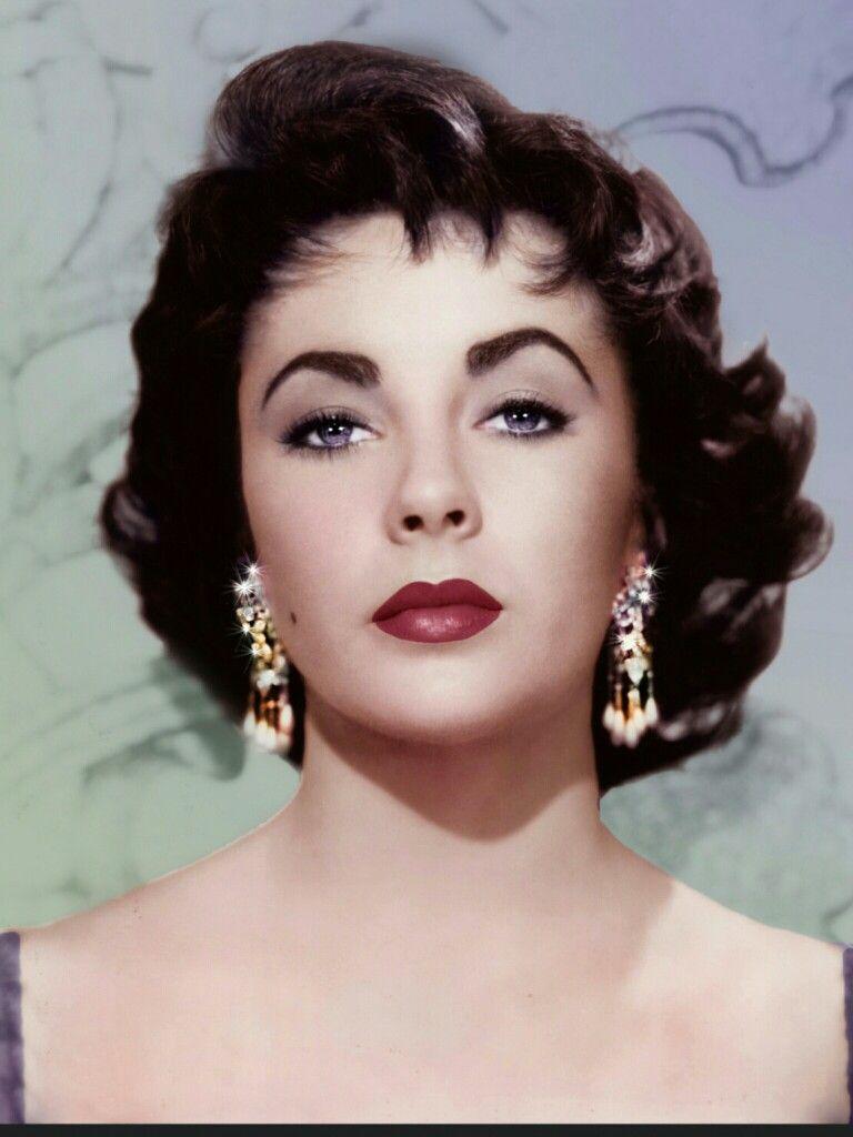 Liz Taylor Vintage Short Hair Vintage Hairstyles Elizabeth Taylor
