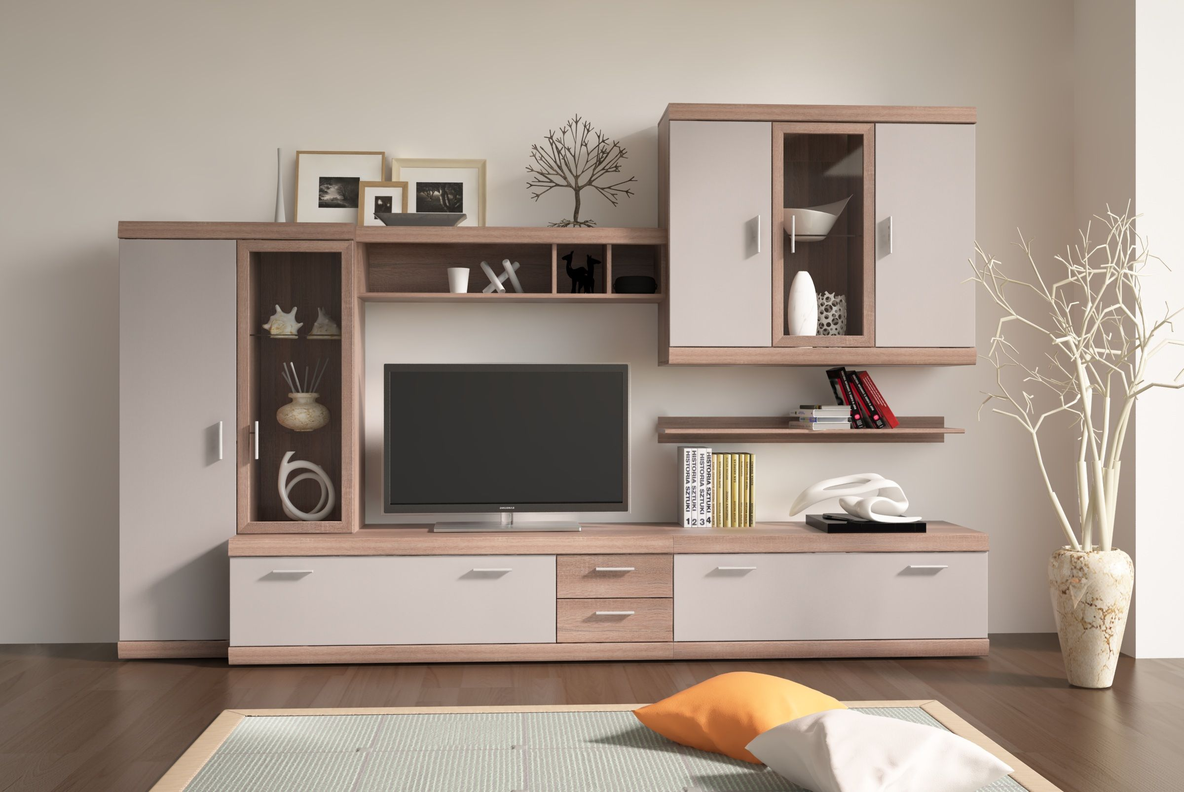 Imperial 19  Living room tv unit designs, Modern wall units