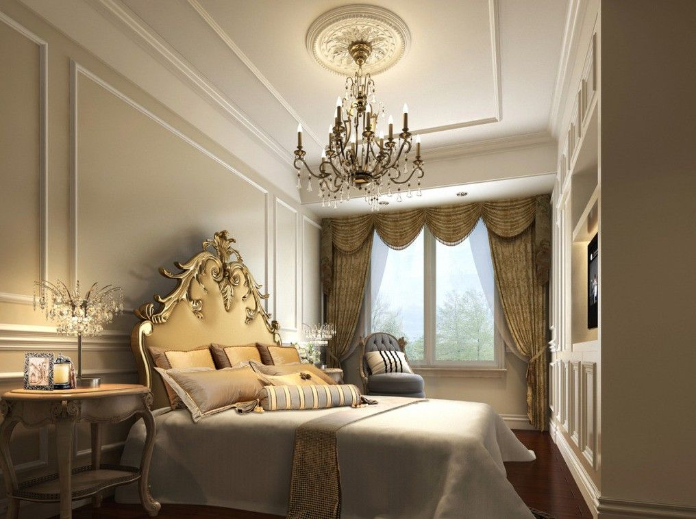 Classic interiors new classic interior design bedroom for Interior designs for bedroom