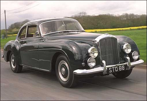 bentley r-type continental the first car to carry bentley's now